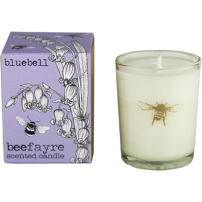 Beefayre - Bee Free Bluebell Votive Candle