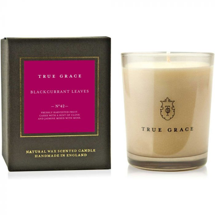 True Grace - Blackcurrant Leaves Natural Wax Scented Candle No. 42