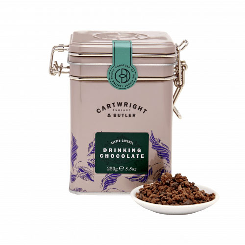 Cartwright & Butler - Salted Caramel Drinking Chocolate in Tin
