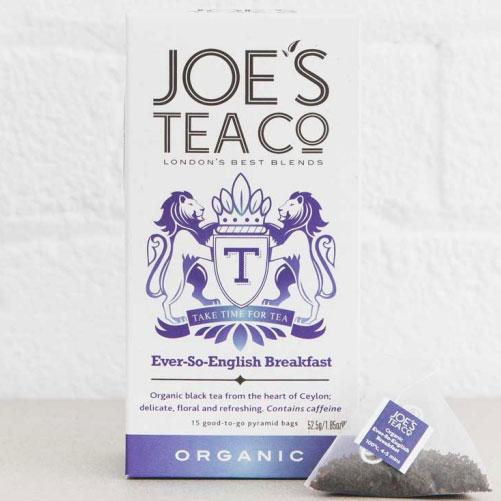 Joe's Tea Company Ever-So-English Organic Breakfast Tea - Happy Box London